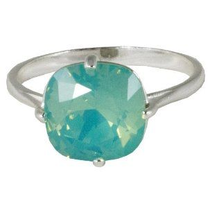 pacific opal engagement ring?? except with white gold or platinum.. perfect!! ^_^