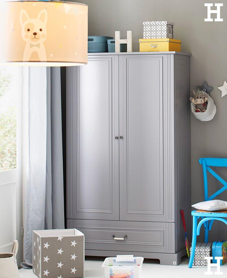 Kleiderschrank 2-türig Ines | Pinterest | Graues babyzimmer ...