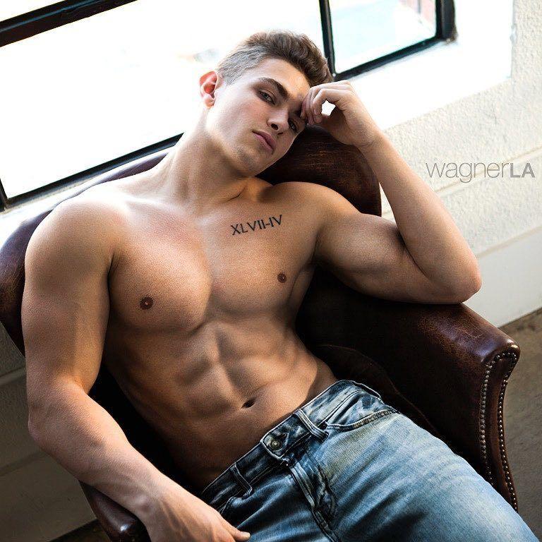 Muskeljunge schwulen Sex