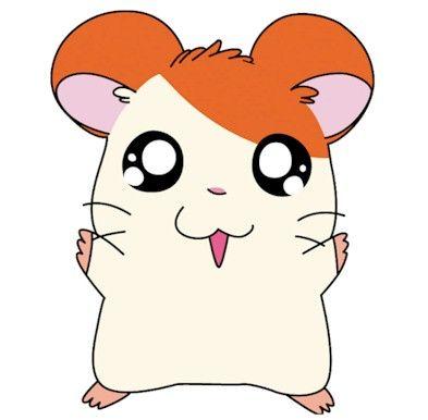 Cute Cartoon Hamsters Lala Brownies Hamtaro Cute Kawaii Drawings Cute Drawings