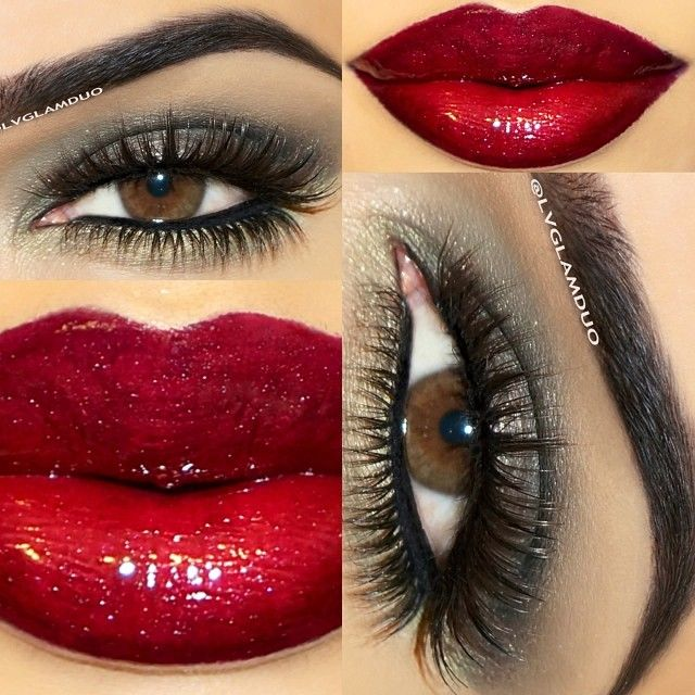 "Eyes- @anastasiabeverlyhills Lavish palette Lid ""Black Diamond"" Crease ""Moss"" Bottom lash line ""Moss"" highlight ""Ballet""   Lashes- @Allison j.d.m j.d.m House! of Lashes ""Noir Fairy Brown"" Bottom  @flutterlashesinc ""Brittany""   Lips- @motivescosmetics Liner ""Onyx"" Lipstick ""Naughty"" Topped with gloss ""Runway""   Brows- @anastasiabeverlyhills ""Ebony"" - @lvglamduo- #webstagram"