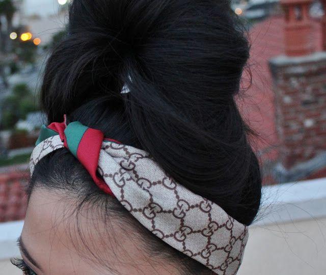 Gucci Headband Photo 8 In 2019 Gucci Scarf Gucci