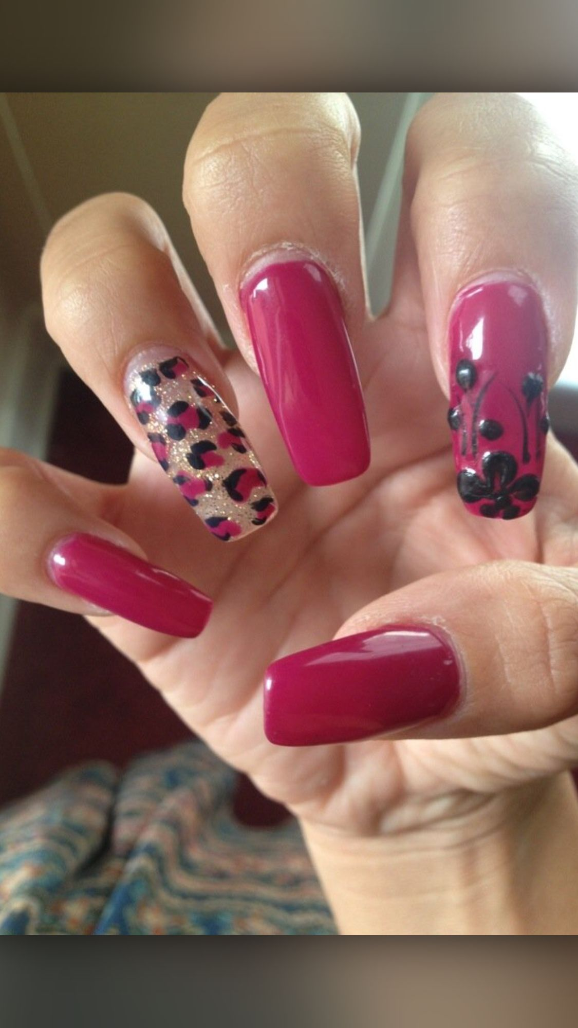 Coffin Shaped Gel Nails | Nails | Pinterest | Coffin nails