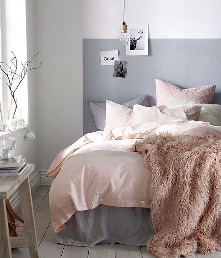 Home accessory pink fluffy blanket bedroom bedding