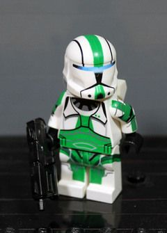 Star Wars White Commando Storm Clone Troopers Mini Figures use with lego 1 Jedi