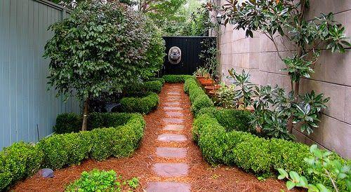 DECORACION DE PATIOS PEQUENOS Y ESTRECHOS Garden Landscaping