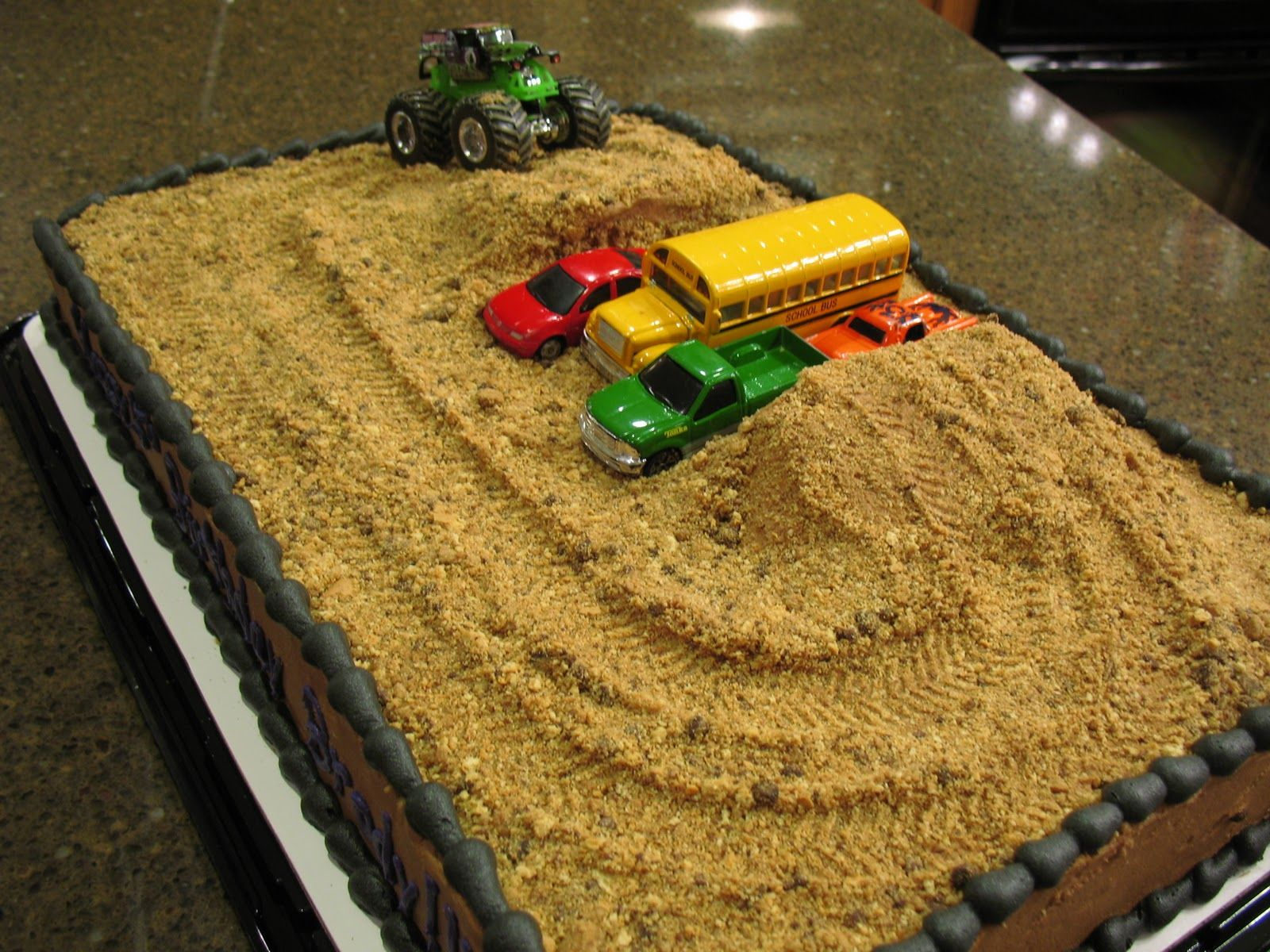 Monster Truck Birthday Cake Ideas So Sweet Cookies A
