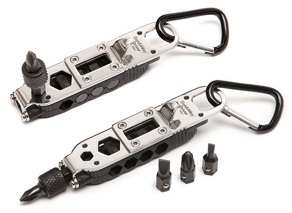 Good Use EDC Multi-tool Outdoor Tools LED Screwdriver Wrench Opener Key Chain