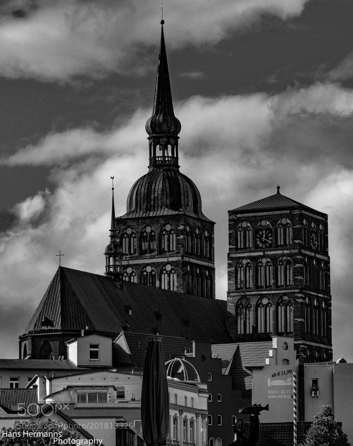 church in Stralsund by hermannshans