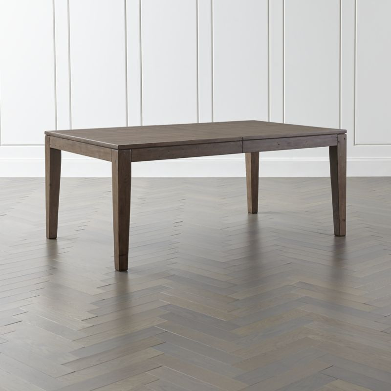 Shop Morris Ash Grey Reclaimed Wood Extension Dining Table Each