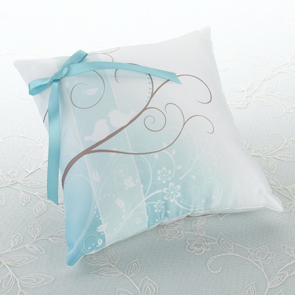 Love Birds Wedding Ring Pillow [576-RP220 Love Birds Ring Pillow ...