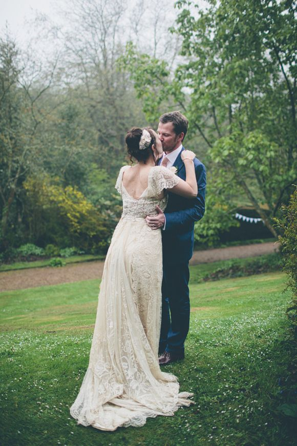 A 1920s And 1930s Inspired Bespoke Lace Dress For An Isle Of Wight Wedding
