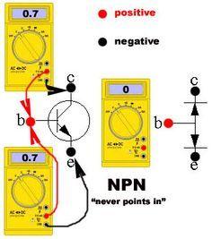 Transistor Tester Using a #Digital Multimeter #Electronics ...