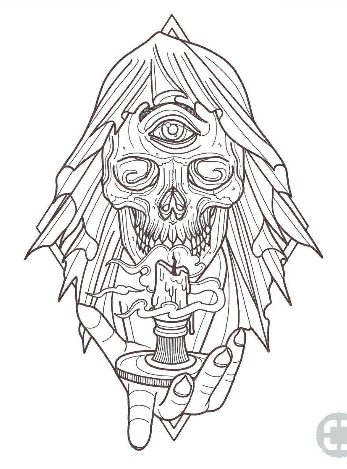 Pin By Gabriel Dominguez On Tatuajes Skull Tattoo Design Octopus Tattoo Design Candle Tattoo