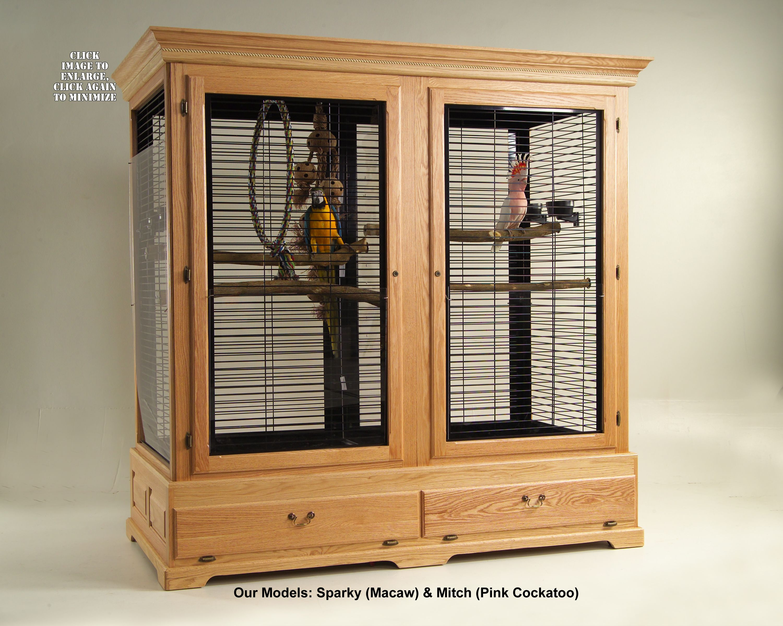 Bird Cages,Parrot Cages,Wooden Bird Cages, Avian Accents ...