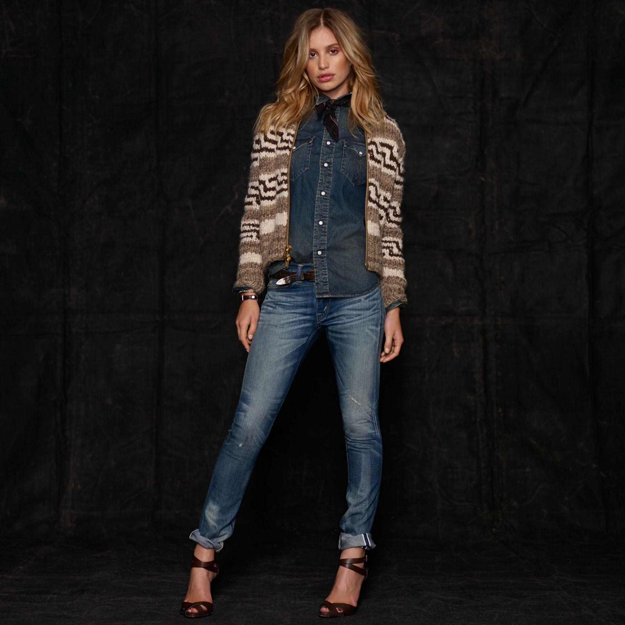 Women s RRL ) Shawl Collar Cardigan, Ralph Lauren Style, Sports Women,  Western 40e30a48df22