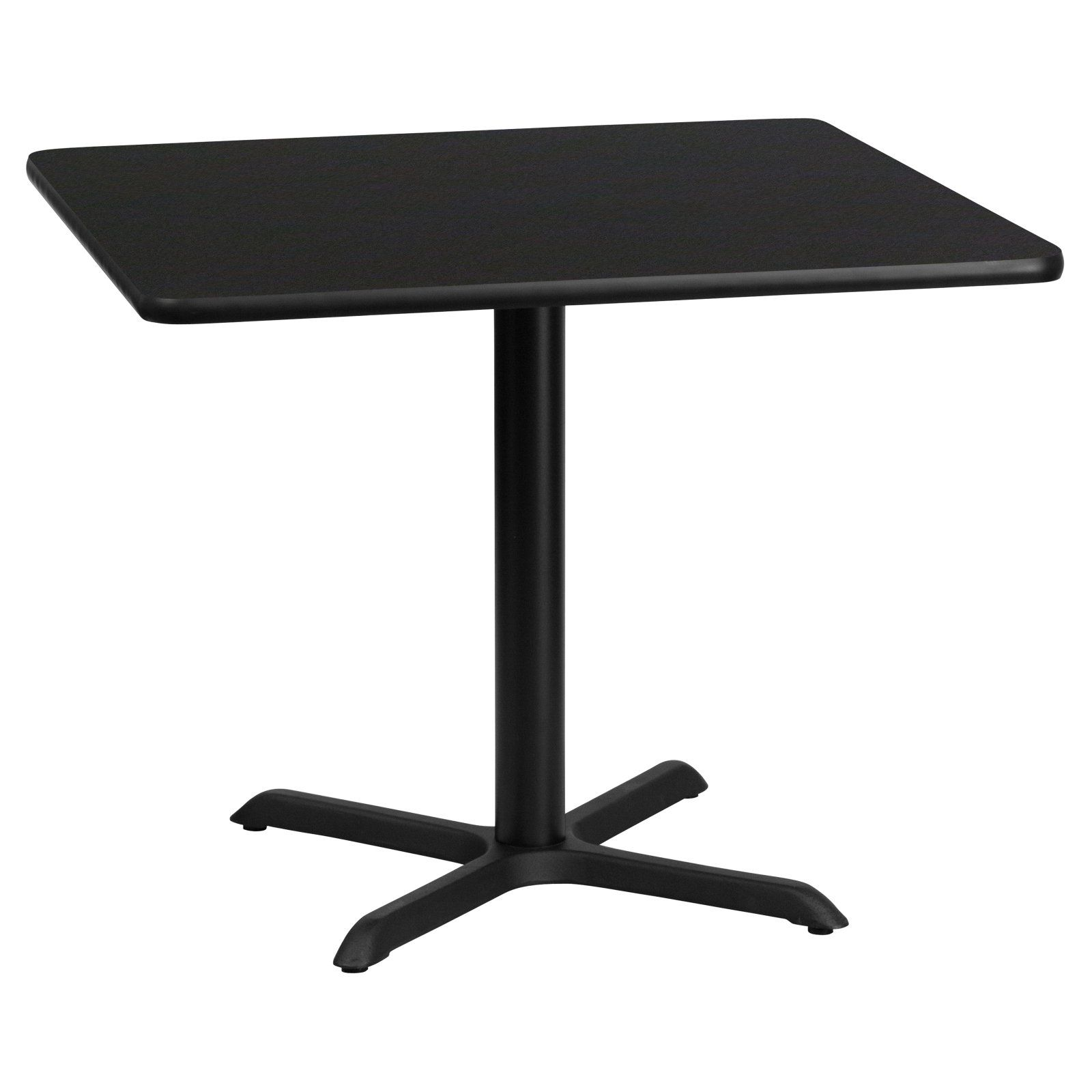 Flash Furniture 36 In Square Laminate Dining Table With 4 Footed