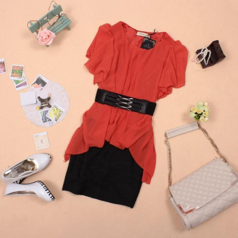 Cute skirted outfit