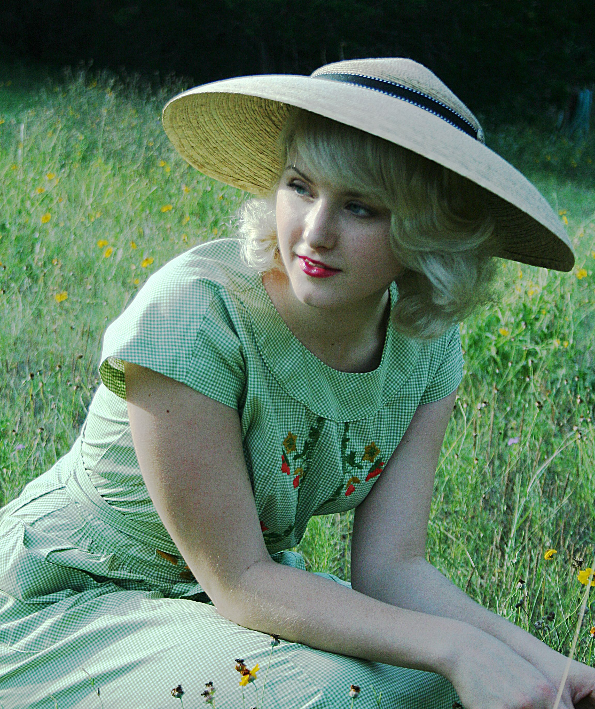 2135a36e938 Ava by Tula Hats. A vintage inspired look that has an added bonus of  excellent sun protection. Design by Alice Eichelmann.