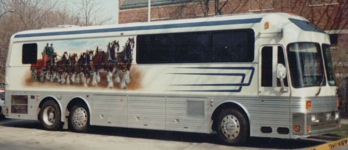 Tour Bus For Sale >> Old Bus Photos Bus For Sale Bus Sales Prevost Buses Stars