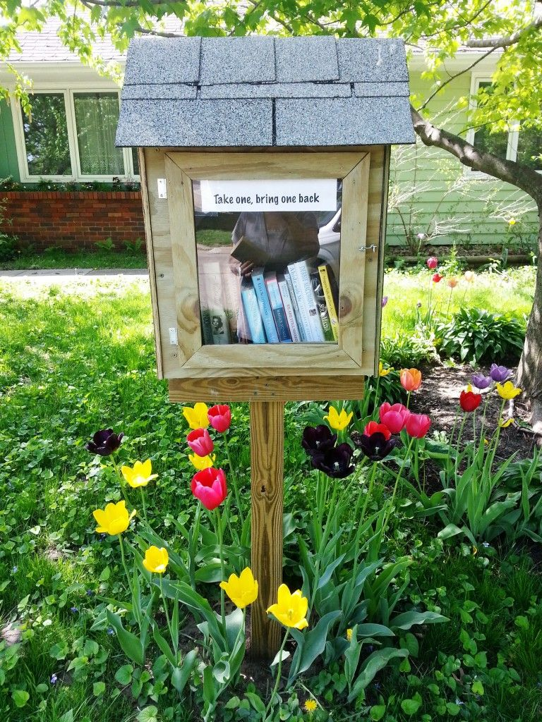 Little Free Library World Map.Little Free Libraries Popping Up Across The World Reading Corner