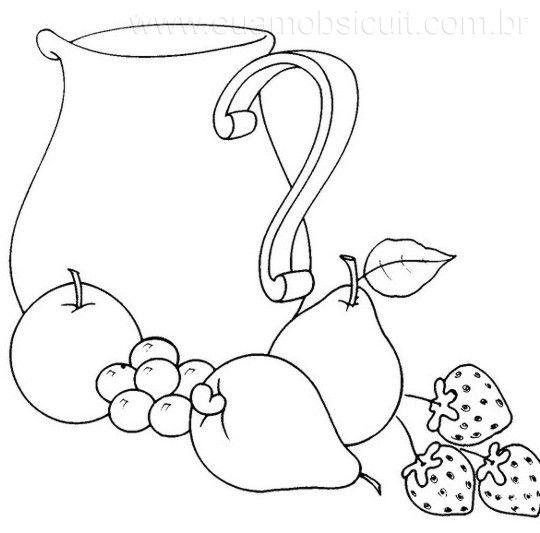 Patrones de frutas para imprimir - Imagui | Para bordar ...