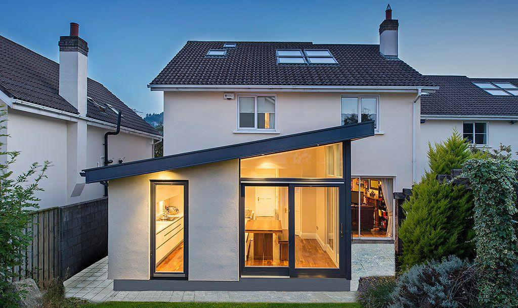 Back Garden House Extension | Extension Ideas | Pinterest | House ...
