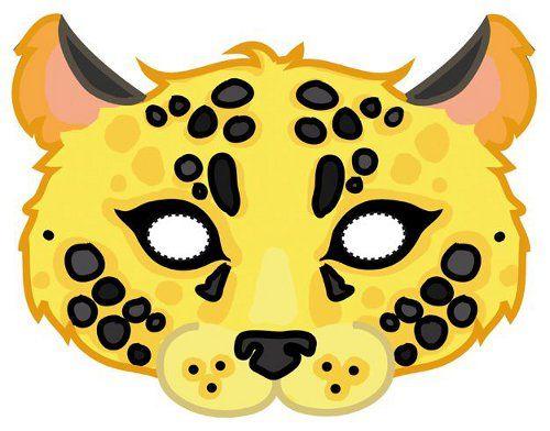 Masque tigre d guisements carnaval masque masque animaux et marionnette papier - Masque de renard a imprimer ...