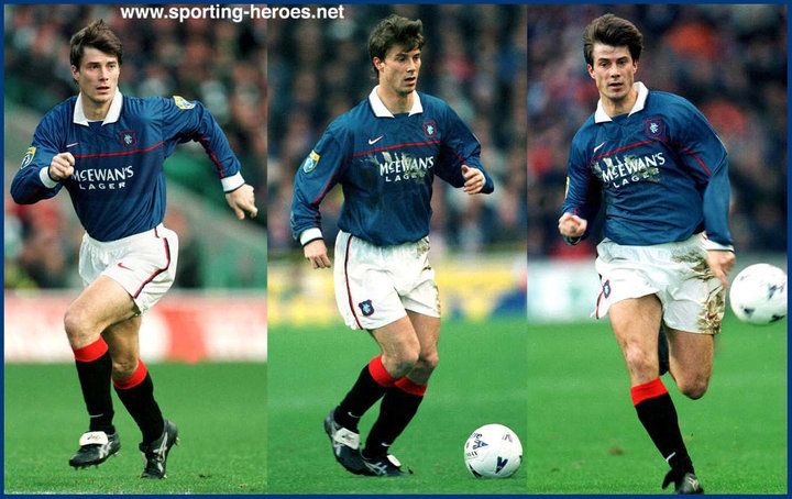 Brian Laudrup - playing for the Rangers -