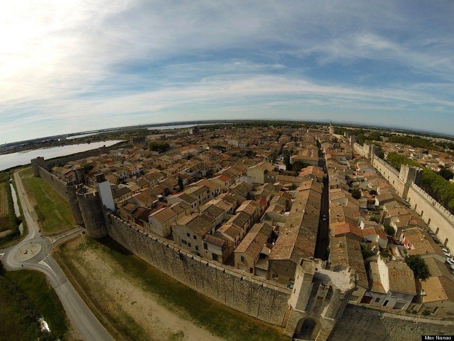 Aigues MortesFrance Photo Taken By Drone