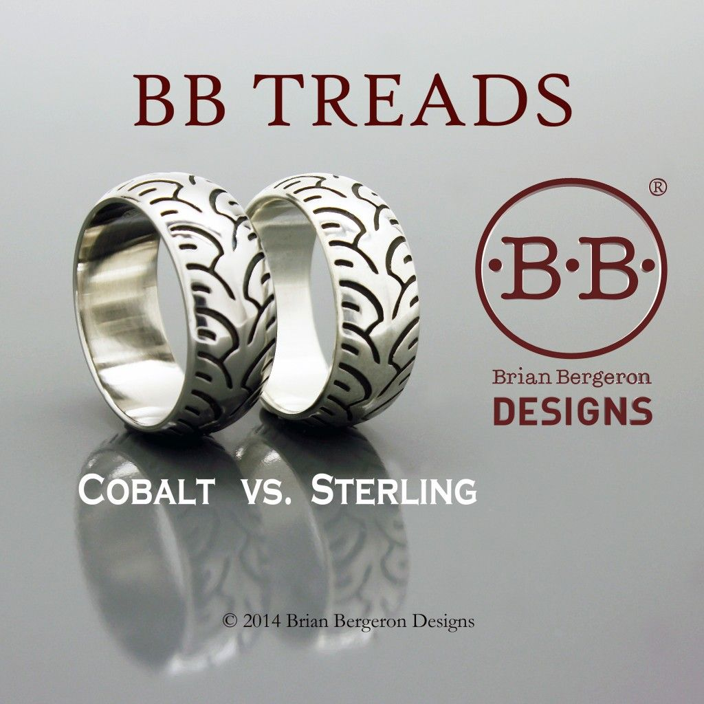 Cobalt chrome vs. sterling silver color comparison (With