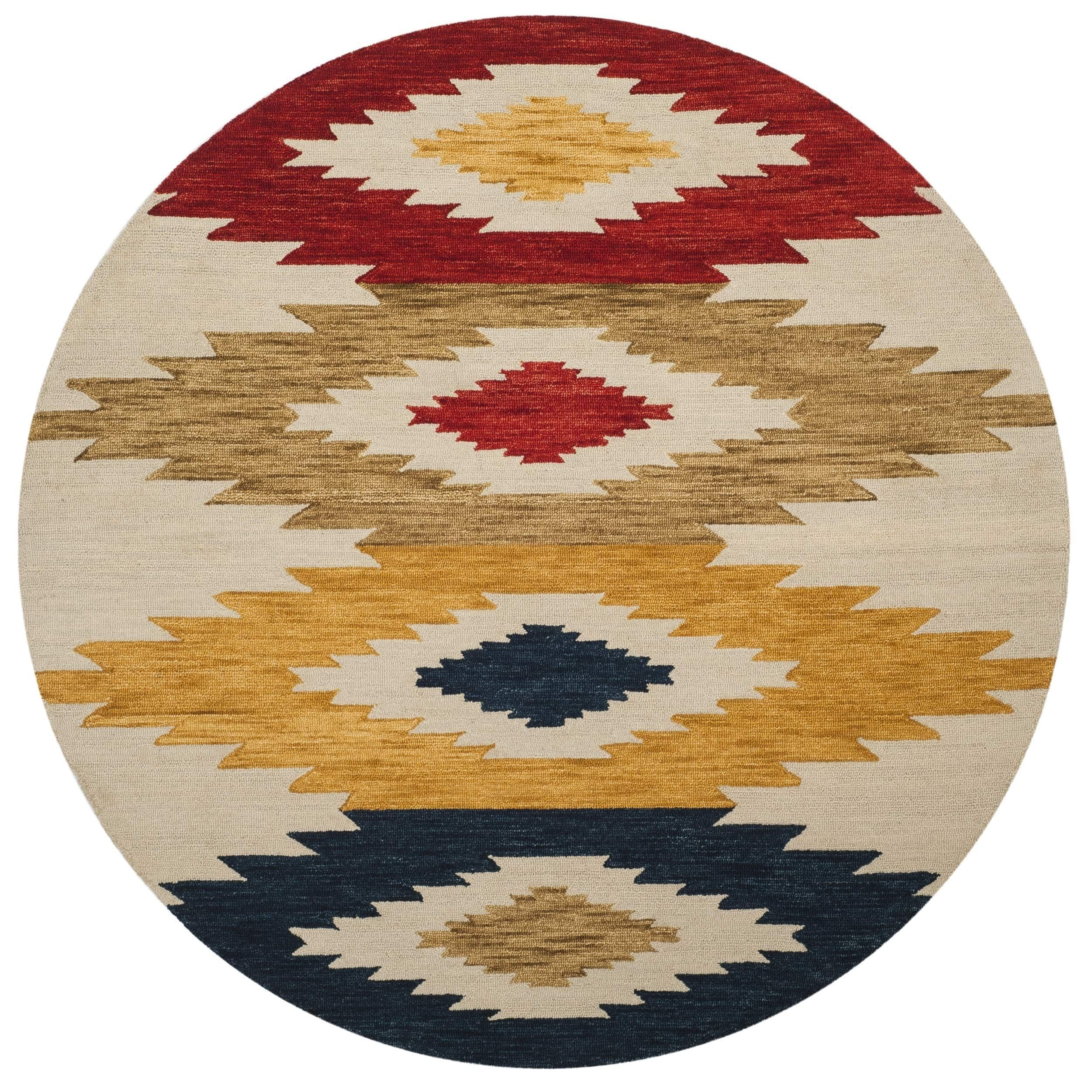 Safavieh Handmade Aspen Velma Boho Tribal Wool Rug Rugs Area