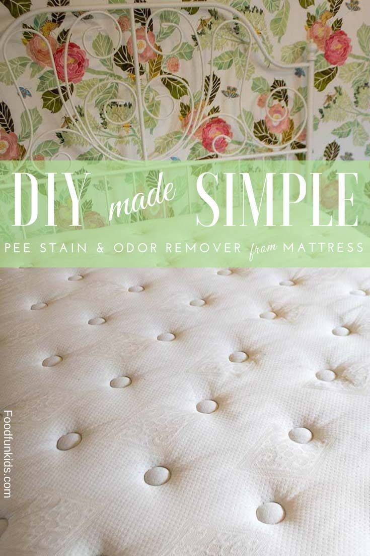 how to get pee stains out of a mattress pee stains craft ideas