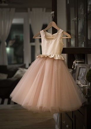 Silk Tulle Custom Flower Girl Dress Free Shipping Flower Girl Dresses Tulle Custom Flower Girl Dress Girls Dresses