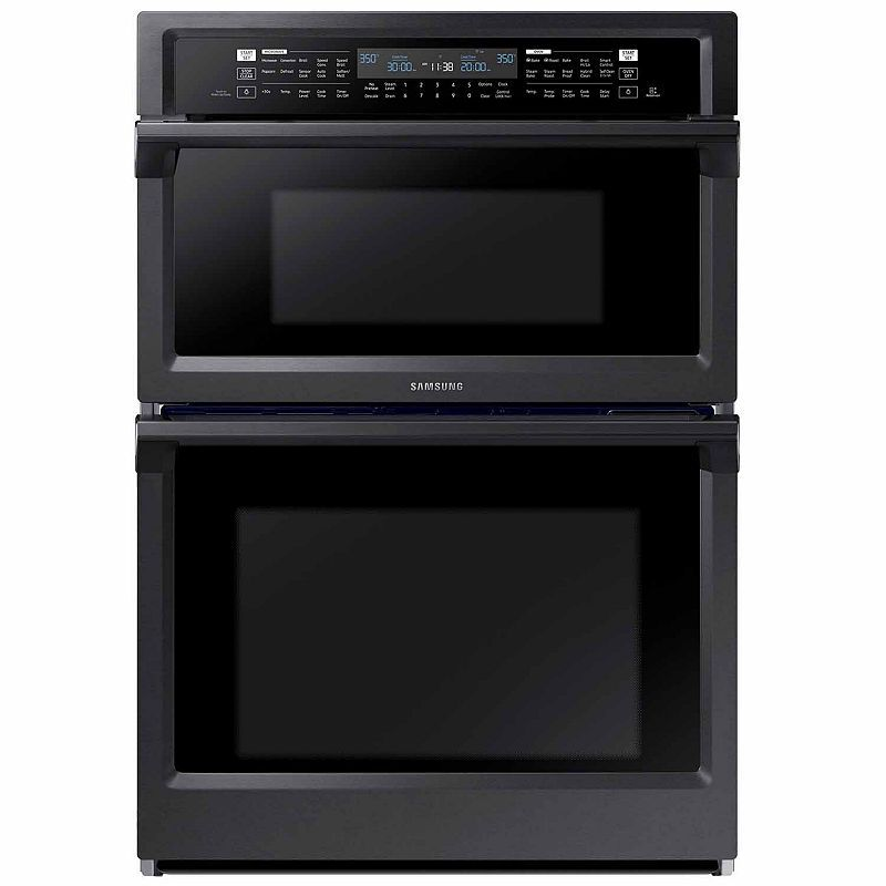 samsung 30 smart wi fi enabled microwave combination wall on wall ovens id=12674