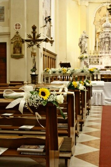 Addobbi Matrimonio Girasoli : Matrimonio estivo rustykalny in composizioni floreali