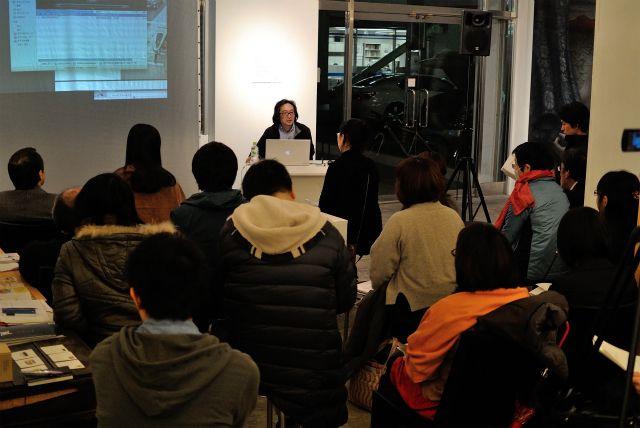 2013年2月22日、あいトリ写真部の部員向けに、キュレーター拝戸雅彦氏のレクチャーを行いました。