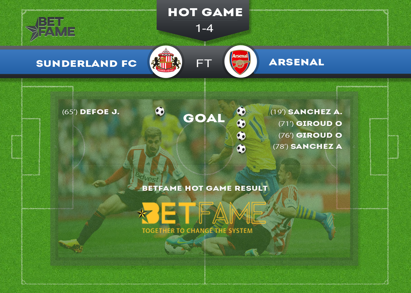 Arsenal went top of the epl table with a 4 1 victory at sunderland arsenal went top of the epl table with a 4 1 victory at stopboris Image collections