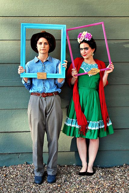 Frida Diego A Clover Bee Erin Engle Flickr Thrift Store Halloween Costume Thrift Store Costume Couples Costumes