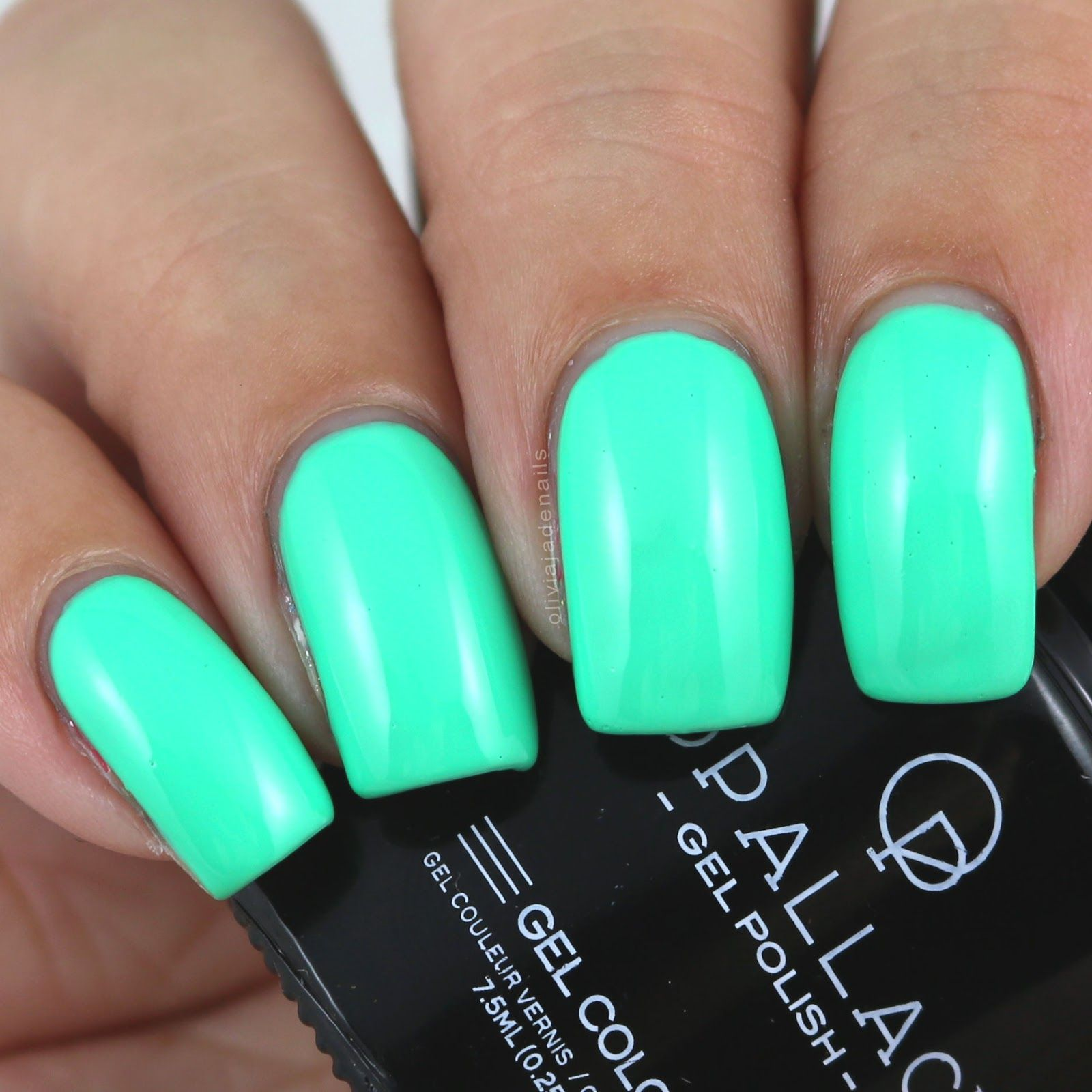 Opallac Gel Polish Candyman Can swatched by Olivia Jade Nails ...