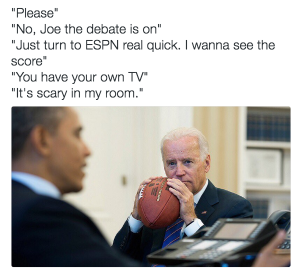The Internet Imagines Barack Obama And Joe Biden As Best Buds And Their Conversations Are Hilarious Joe Biden Memes Obama And Biden Memes