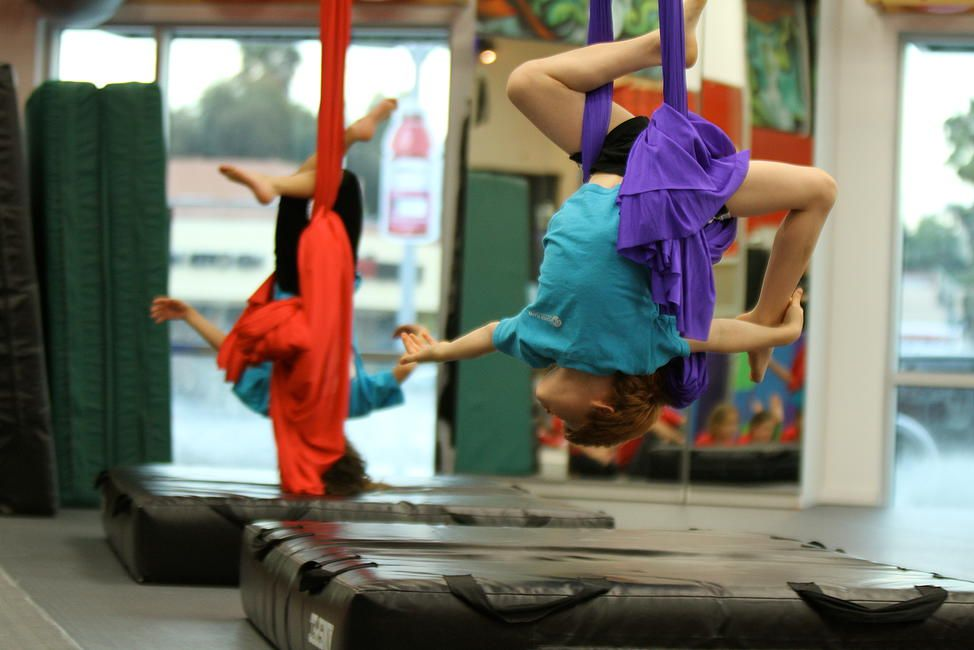 Fly studios kids aerial arts homepage exercise for kids