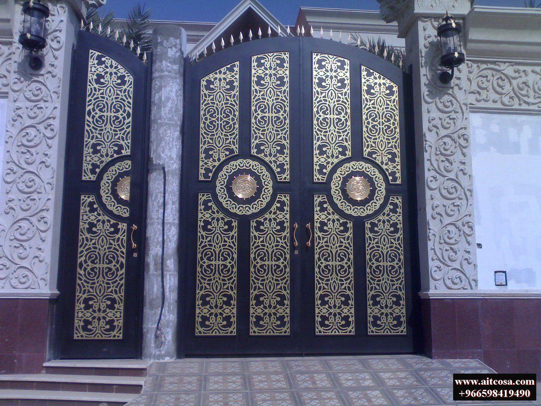 Pin By Aitco On ابواب خارجية Iron Wall Decor Gate Design Wrought Iron Gates