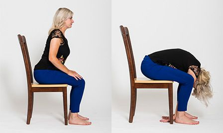 five benefits of chair yoga and six poses to get started