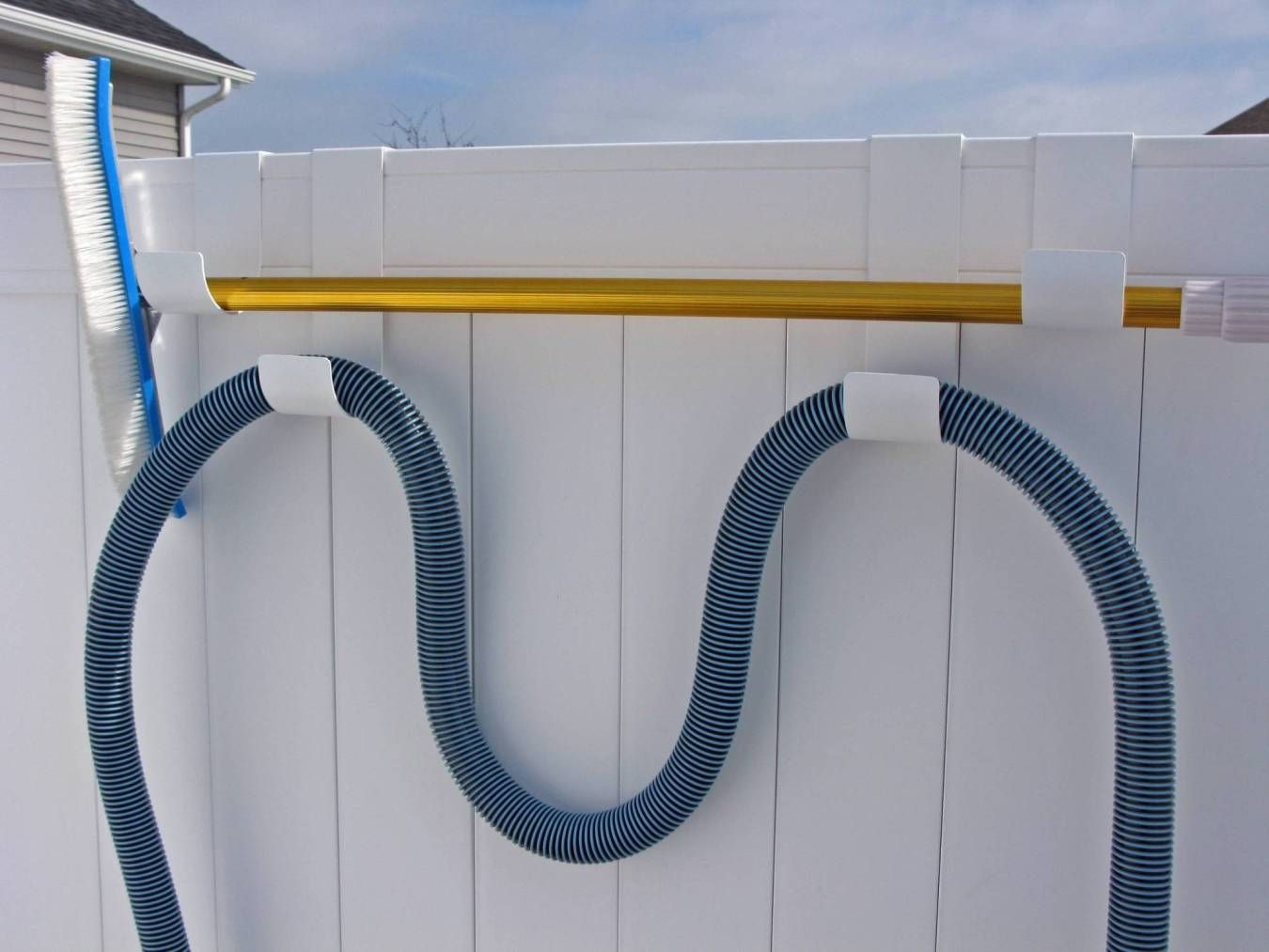 Fence Hook Combo Pack Fits 2 Inch Fence Rails Pool Hoses Pool Accessories Swimming Pools