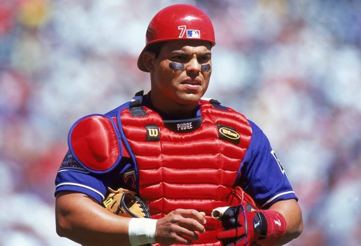 """Hall Of Fame catcher, Ivan """"Pudge"""" Rodriguez Mlb players"""
