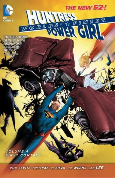 Worlds Finest Vol 4 First Contact The New 52 Batman And