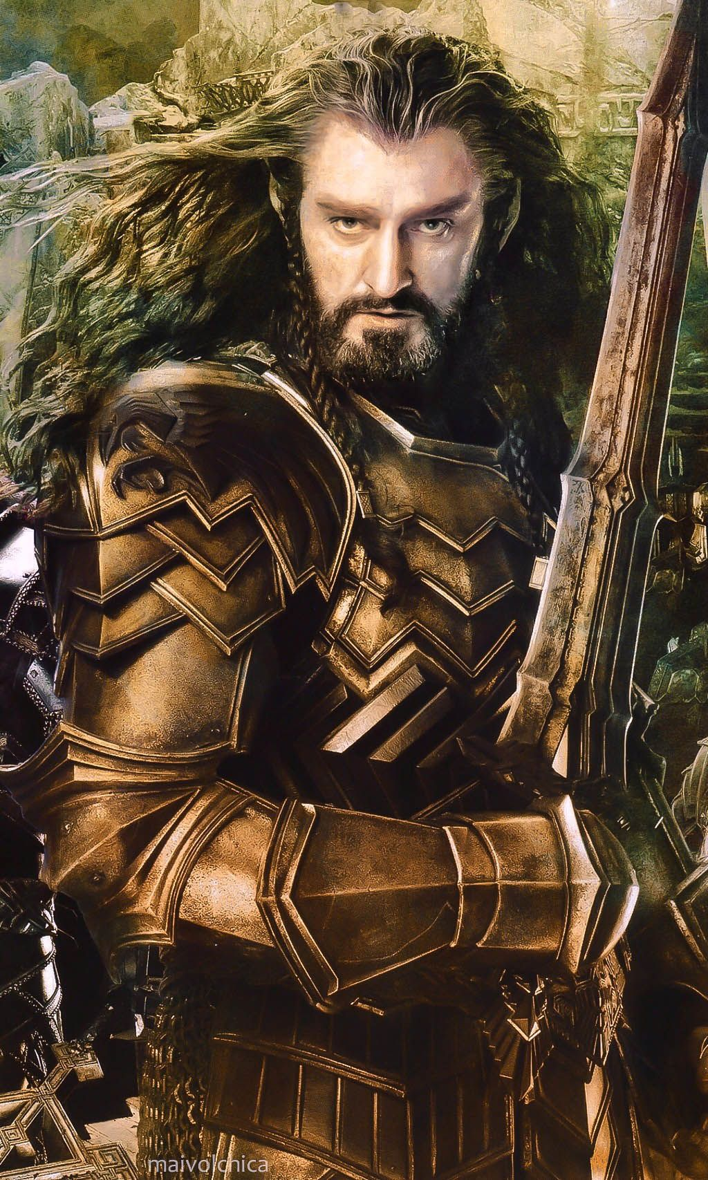 Richard armitage as thorin oakenshield in the hobbit the battle of the five armies cosplay - Dessin seigneur des anneaux ...