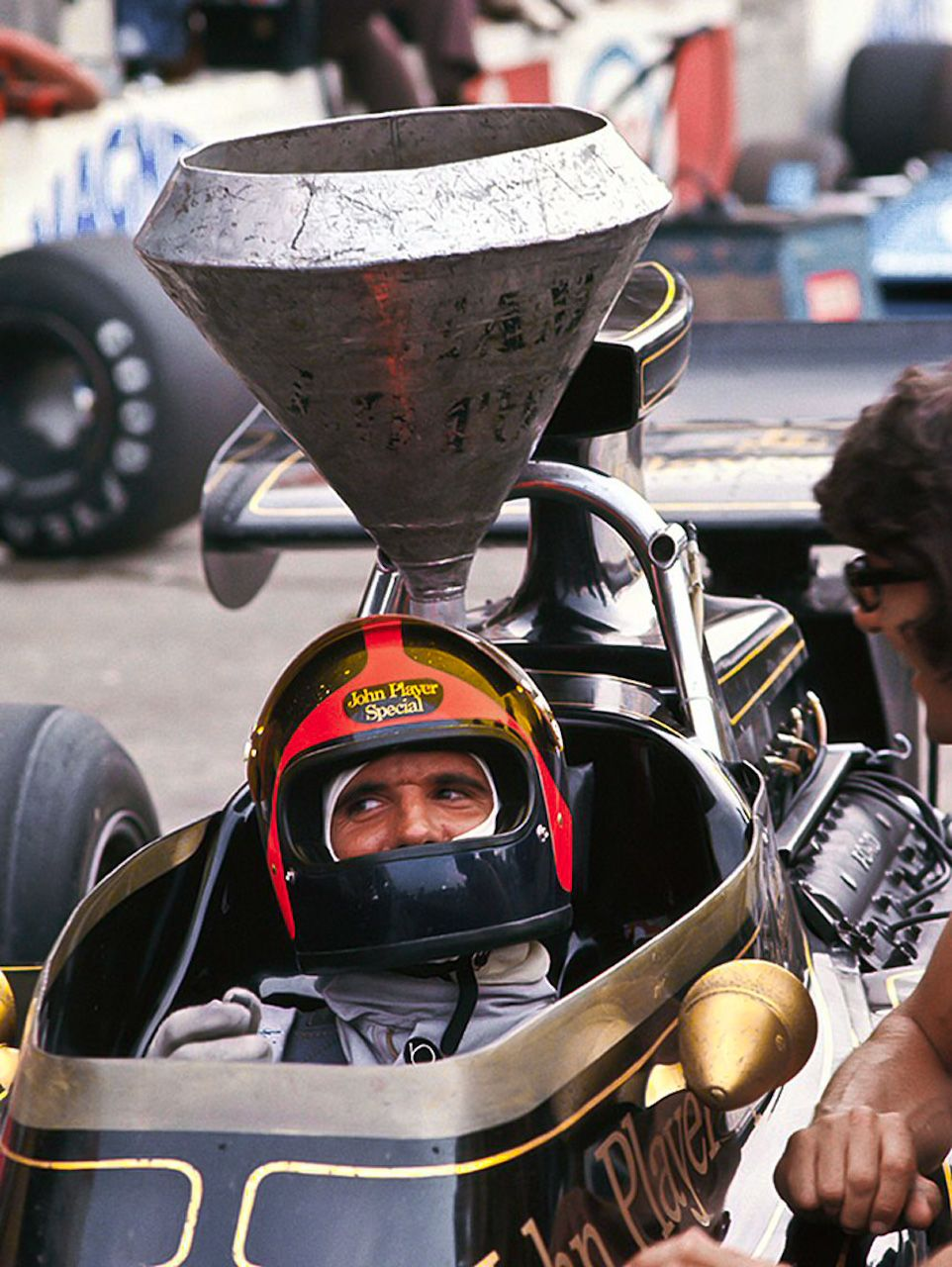 1972 Italian GP Lotus 72D Emerson Fittipaldi