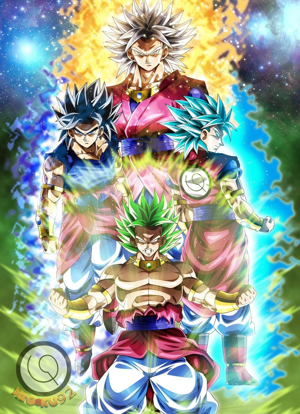 A Legend Reborn by diegoku25 on DeviantArt   Anime dragon ball ...